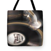 The Edison Record Player Tote Bag by Mike McGlothlen