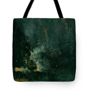The Falling Rocket Tote Bag by James Abbott Whistler