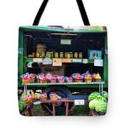 The Farmers Market Tote Bag by Paul Ward