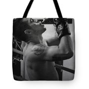the Fighter Tote Bag by Lisa Knechtel