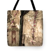 The Fortune Teller Palmistry Tote Bag by Robin Lewis