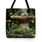 The Fountain Painterly Tote Bag by Ernie Echols