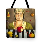 The Fruit Collector 2 Tote Bag by Leah Saulnier The Painting Maniac