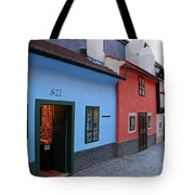 The Golden Lane Tote Bag by Mariola Bitner
