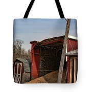 The Grain Barn Tote Bag by Paul Ward