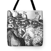 The Gunpowder Rebellion, 1605 Tote Bag by Photo Researchers