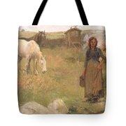 The Gypsy Camp Tote Bag by Harold Harvey