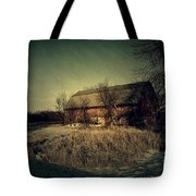 The Hiding Barn Tote Bag by Joel Witmeyer