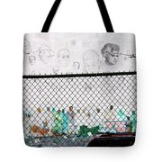 The History Wall Tote Bag by Terry Wallace