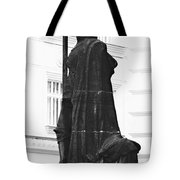 The Iron Knight - Darth Vader Watches Over Prague Cz Tote Bag by Christine Till