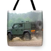 The Iveco Light Multirole Vehicle Tote Bag by Luc De Jaeger