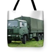 The Iveco M250 Used By The Belgian Army Tote Bag by Luc De Jaeger