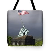 The Iwo Jima Statue Tote Bag by Michael Wood