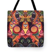 The Joy Of Design Series Guardians Tote Bag by Helena Tiainen