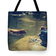 The Joys of Innocence Tote Bag by Laurie Search