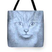 The Kitten Tote Bag by Jack Skinner
