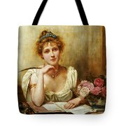 The Letter Tote Bag by George Goodwin Kilbourne