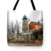 The Lighthouse Tote Bag by Ken Marsh