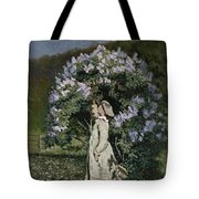 The Lilac Bush Tote Bag by Olaf Isaachsen
