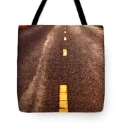 The Long Road Home . Painterly Style . Long Size Tote Bag by Wingsdomain Art and Photography