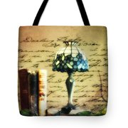The Love Letter Tote Bag by Bill Cannon