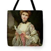 The Love Letter Tote Bag by Francois Martin-Kayel