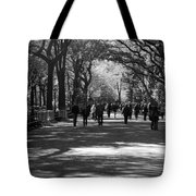 The Mall At Central Park Tote Bag by Rob Hans