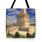 The Mausoleum At Halicarnassus Tote Bag by English School