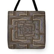 The Maze Within Tote Bag by Tim Allen