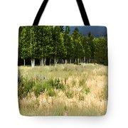 The Meadow Digital Art Tote Bag by Phyllis Denton
