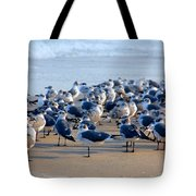 The Monday Morning Meeting Tote Bag by Susanne Van Hulst
