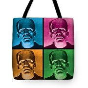 The Monster X 4 Tote Bag by Gary Grayson