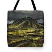 The Mountain Pass Tote Bag by Evelina Kremsdorf