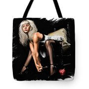 The Nightmare Tote Bag by Pete Tapang