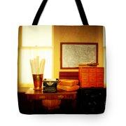 The Office Old Tuscon Arizona Tote Bag by Susanne Van Hulst