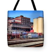 The Old C and H Pure Cane Sugar Plant in Crockett California . 5D16770 Tote Bag by Wingsdomain Art and Photography