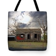 The Old Farm House In My Dreams Tote Bag by Wingsdomain Art and Photography