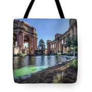 The Palace Of Fine Arts Tote Bag by Everet Regal