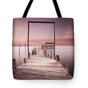 The Passage To Brightness Tote Bag by Jorge Maia