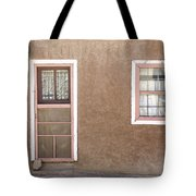 The Pinkertons Live Here Tote Bag by Glennis Siverson