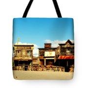 The Pioneer Hotel Old Tuscon Arizona Tote Bag by Susanne Van Hulst