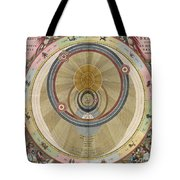 The Planisphere Of Brahe Harmonia Tote Bag by Science Source