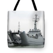 The Polish Lublin-class Minelayer Orp Tote Bag by Stocktrek Images