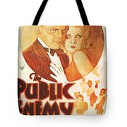 The Public Enemy Tote Bag by Nomad Art And  Design