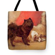 The Red Cushion Tote Bag by Maud Earl