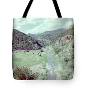 The River Tote Bag by Bonfire Photography