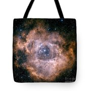 The Rosette Nebula Tote Bag by Charles Shahar