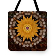The sun will rise with light and love Tote Bag by Pepita Selles
