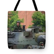 The Turret Of The Leopard 1a5 Main Tote Bag by Luc De Jaeger