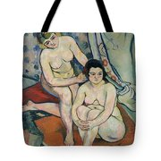 The Two Bathers Tote Bag by Marie Clementine Valadon